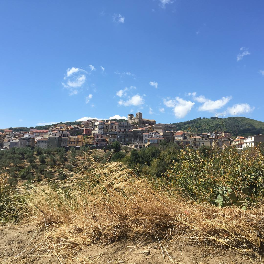 Montepaone, Italy in Calabria majestically overlooks the Ionian Sea. Photos by Ryan Tibbert, August 19, 2017