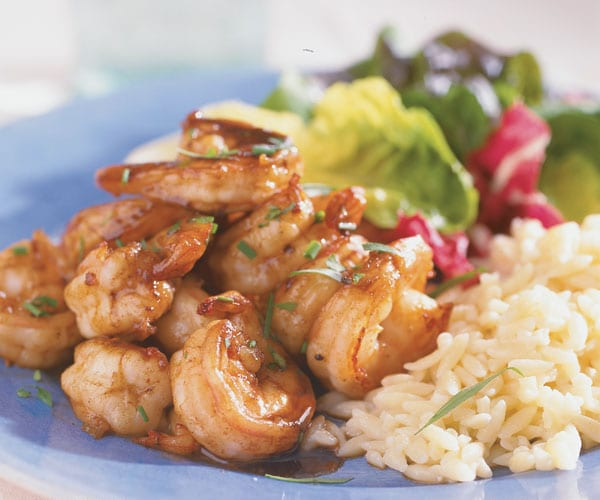shrimp-with-buttery-vinegar-sauce
